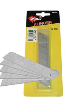 Miller blade 18mm (10stk)    V 495-18